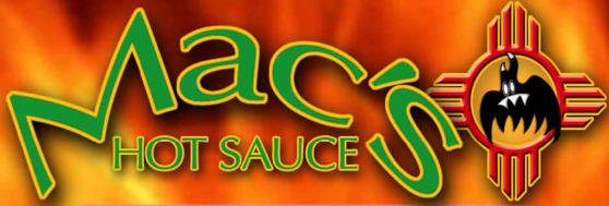 Mac's Hot Sauce new logo