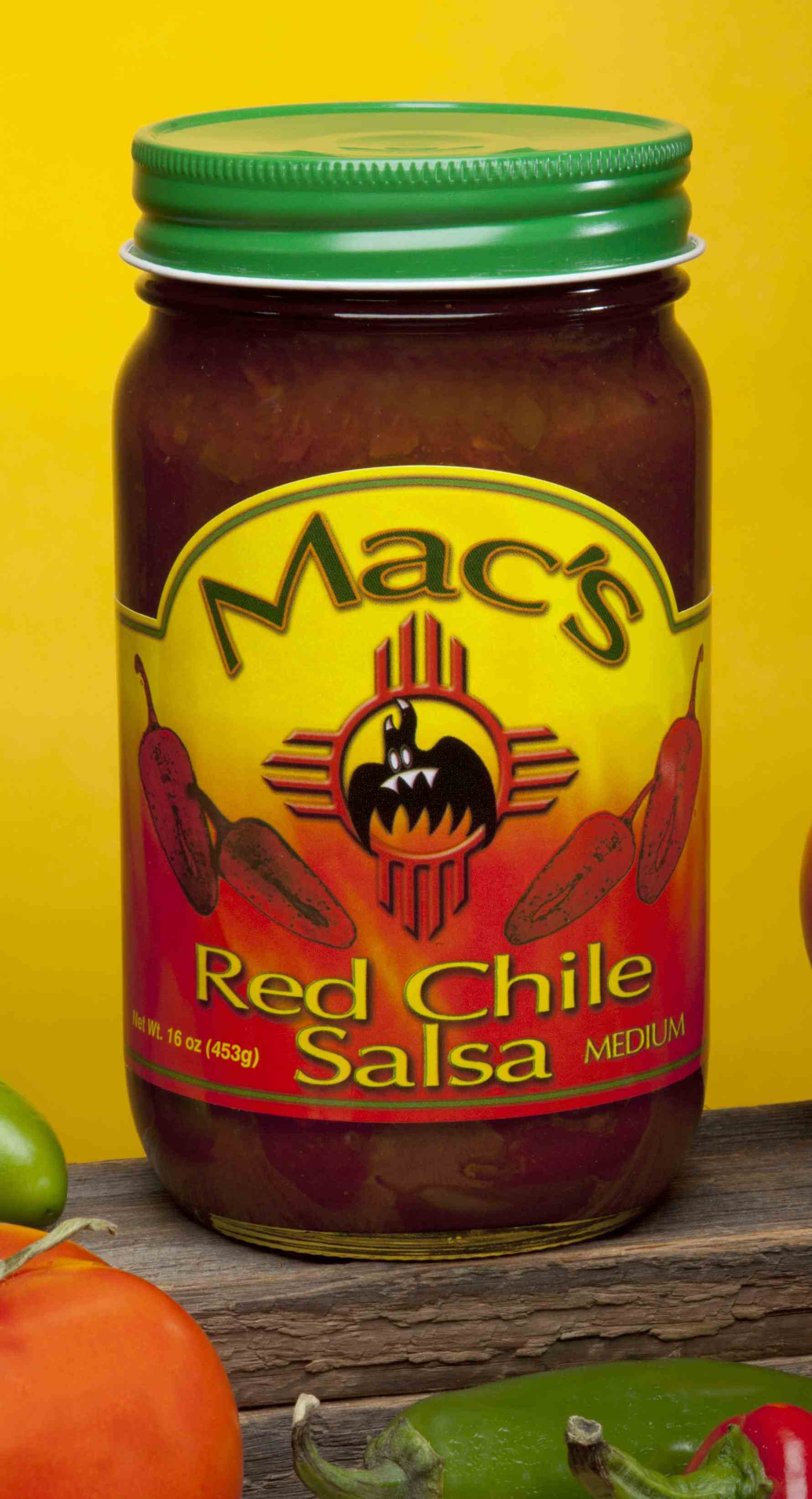 New! Red Chile salsa